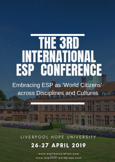 3rd ESP Conference